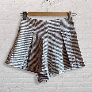 American Apparel Seersucker Hampton Stripe Shorts